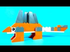 How To Make Lego DINOSAUR STEGOSAURUS - 10664 LEGO® Bricks and More Creative Tower Tutorial - YouTube
