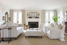 white living room decor - Google Search