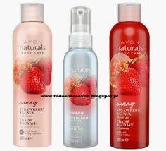 Tudo sobre Avon: Novos Avon Naturals Sunny - Morango e Goiaba