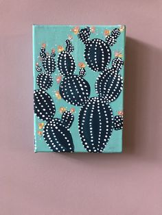 Diy canvas art 360499145168037817 - prickles – acrylic cactus on canvas Source by barroisv Small Canvas Paintings, Small Canvas Art, Mini Canvas Art, Mini Paintings, Diy Canvas, Canvas Painting Quotes, Canvas Ideas, Cactus Painting, Cactus Art