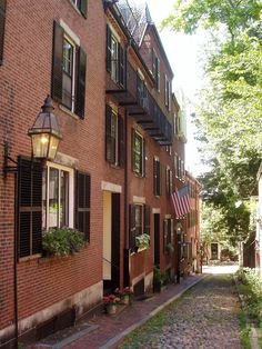 Boston, Mass. I want to visit this place so bad it just looks adorable.