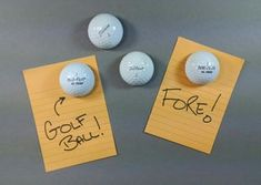 3 Super Easy Golf Ball Hacks : 16 Steps (with Pictures) - Instructables Golf Tiger Woods, Woods Golf, Golf Drawing, Golf Ball Crafts, Golf Humor, Sports Humor, Basic Tools, Bowling Ball, Golf Tips
