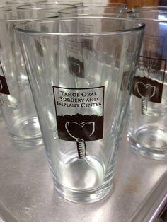 Tahoe Oral Surgery and Implant Center Oral Surgery, Pint Glass, Beer, Tableware, Root Beer, Ale, Dinnerware, Beer Glassware, Tablewares