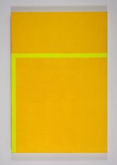 Carmen Herrera Two Yellows, 1992