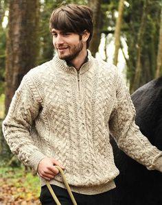 126 Best Irish Wool Sweaters Etc Images Yarns Knit Jacket
