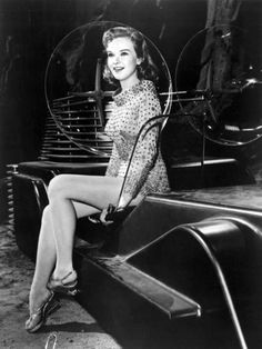 """Anne Francis in """"Forbidden Planet"""" (1956)"""