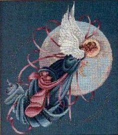 Blue Moon Angel - 1/5 Solo Patrones Punto Cruz (pág. 322) | Aprender manualidades es facilisimo.com