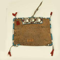 Cheyenne woman;s tool bag.  Kansas City Mus.  ac