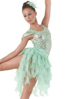 Weissman™ | Draped Sleeve Spiral Skirt Dress