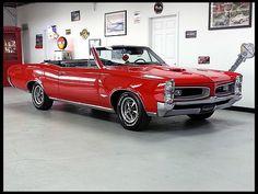 1966 Pontiac GTO Convertible 400 CI, Automatic  #Mecum #KansasCity