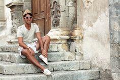 Burberry Prorsum Hat in Noto  Summer 2012    source www.thethreef.com  #Burberry #straw #hat #FilippoFiora