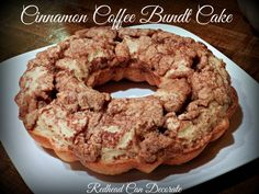 Low Fat Cinnamon Coffee Bundt Cake Recipe