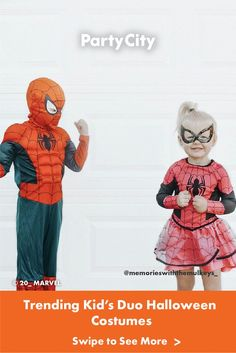 Get inspired with Halloween costumes all kids will love! Duo Halloween Costumes, All Kids, Marvel, Fairy Princesses, Fun, Fictional Characters, Inspired, Fantasy Characters, Hilarious