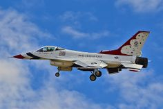 Red Flag, Nellis AFB, NV - F-16C Fighting Falcon Capt. Joshua Boudreaux, Thunderbird 2, Left Wing