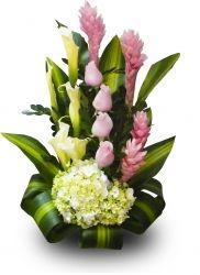 Arreglo floral Felicidad Eterna http://www.donregalo.pe/FELICIDAD-ETERNA