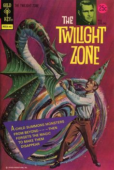 Cover for The Twilight Zone (Western, 1962 series) #57