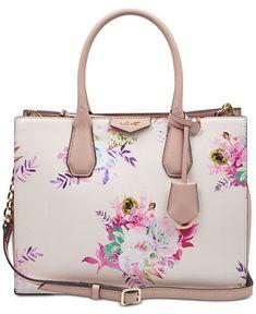 Nine West Maddol Floral Jet Set Tote - Floral Multi/Gold Prada Handbags, Prada Bag, Fashion Handbags, Tote Handbags, Purses And Handbags, Cheap Handbags, Fendi Purses, Popular Handbags, Trendy Handbags