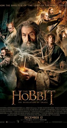The dwarves, along with Bilbo Baggins and Gandalf the Grey, continue their quest to reclaim Erebor, their homeland, from Smaug. Bilbo Baggin...