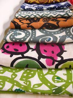 printed textiles by Kawaii Nunohaku