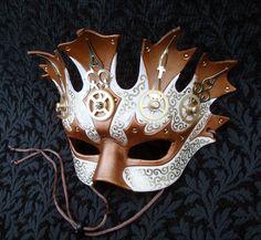 Temporia V2 ... original mixed media handmade steampunk mask.
