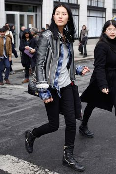 Model Off Duty: Liu Wen