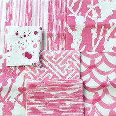 "358 Likes, 7 Comments - Mary McDonald (@marymcdonaldinc) on Instagram: ""Summer scheming pretty in pink here @peterfasano design studio. #greatbarrington #happy #pink…"""