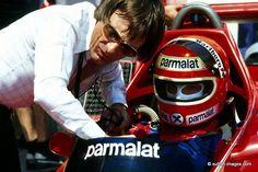 Bernie Ecclestone & Niki Lauda