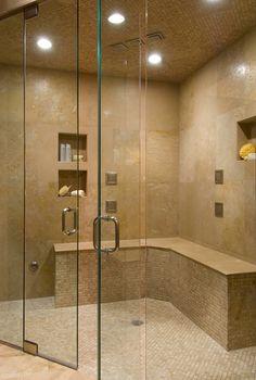 Luxury showers on Pinterest