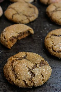 Cardamom Spiced Ginger Cookies - A Saucy Kitchen