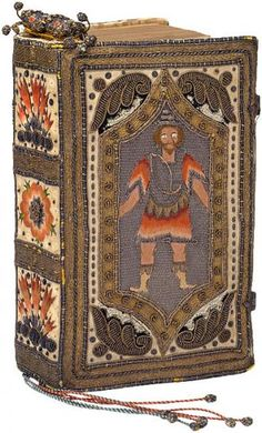 Embroidered binding | Embroidered binding | The Morgan Library & Museum