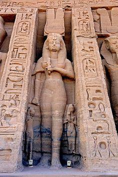 historic buildings little rock temple Abu Simbel temple wall depicting Namasté OM_/|_Ahimsa Nefertari favorite wife of Ramses II