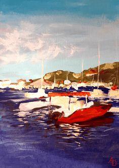 Sailboat, Paintings, Inspiration, Art, Sailing Boat, Biblical Inspiration, Art Background, Paint, Sailboats