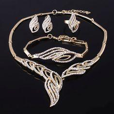 Adrien's Shop - Beautiful bridal jewelry set