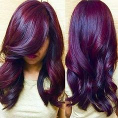 Resultado de imagem para cabelo marsala