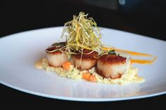 Quintessential California: The cuisine at 230 Forest Avenue dazzles with flavors of the Pacific Rim. | #scallops #butternut #squash #risotto #truffleoil #seafood #lagunabeach #dining #foodie