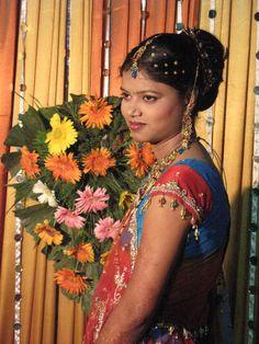 Bridal Bun, Indian Girls, Fashion, Bride Bun, Moda, Fashion Styles, Fashion Illustrations