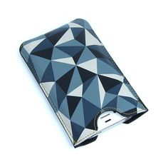 Leather iPhone 4s case - Crystalline Structure by tovicorrie, $55.00