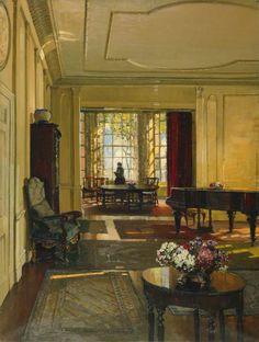 An Artist's Home, 1927, Herbert Davis Richter