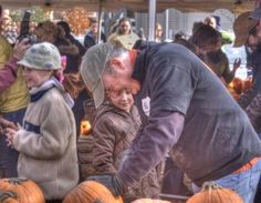 The KGP crew carving pumpkins to raise money for Camp Sunshine.