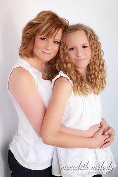 Mother Daughter Glamour Portrait Session - Little Rock Family Portrait Photography