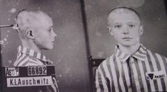 "Lisin was a 13 year old Russian Jew  who was brought to Birkenau through the infamous ""Gates of  Death"" via train on February 10, 1942.  His official fate remains  unknown; however, he likely perished in the gas chamber soon after  this mugshot was taken.  This boy would have been considered a  ""double enemy"" to Adolf Hitler because he was both a Russian  and a Jew."