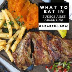 El restaurante en Buenos Aires. Argentina hace papas fritas, brugers y sándwiches para el almuerzo y la cena.