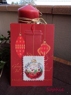 Tarjeta Navidad globo