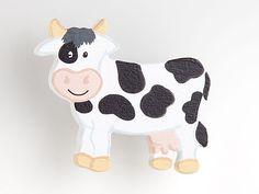 Kuh - Möbelgriff / Möbelknopf für Kinderzimmer