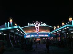 Cars Land Flo's Diner California Adventure Anaheim, California
