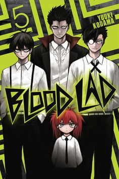 Blood Lad | Liz T. Blood, Staz Charlie Blood, Richarz Blood, & Braz D. Blood