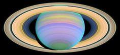 Saturn's Rings in Ultraviolet Light Credit: NASA and E. Karkoschka (University of Arizona)