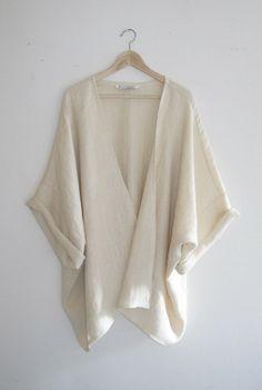db8adac66a Clara Ivory Herringbone Kimono