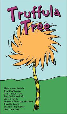 Truffula trees & the Lorax Dr. Seuss, Dr Seuss Week, Lorax Trees, Truffula Trees, Preschool Classroom, In Kindergarten, Classroom Themes, Classroom Secrets, Preschool Poems