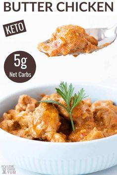 This easy recipe has all the classic Indian flavors you love. It's a flavorful chicken dish with a combination of garam masala and Greek yogurt. Ketogenic Recipes, Low Carb Recipes, Cooking Recipes, Healthy Recipes, Healthy Meals, Diabetic Meals, Chicken Wing Recipes, Chicken Flavors, Chicken Ideas